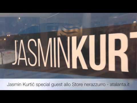 Jasmin Kurtić special guest all'Atalanta Store