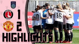 Highlights | Charlton Women 1-2 Manchester United Women | FA Women's Championship