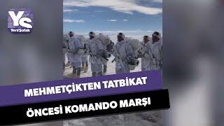 Mehmetçikten tüyleri diken diken eden Komando Marşı