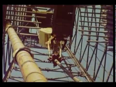 Beneath the North Sea (1977)  - Oil Exploration in the North Sea - UK Industrial Film