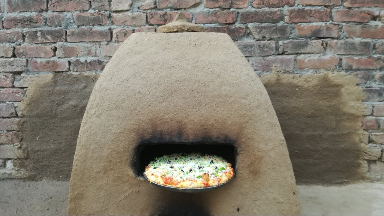 Primitive Technology Clay Mud Oven For Pizza Cob Outdoor Kitchen