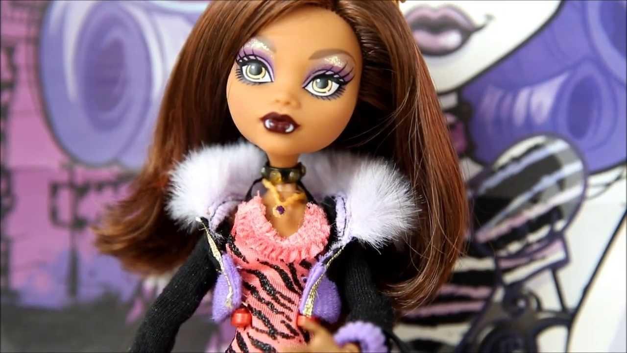 Кукла Клодин Вульф Добро пожаловать в Школу Монстров Monster High .
