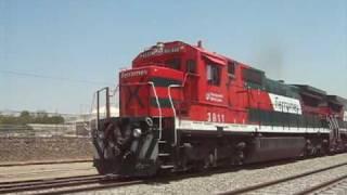 Ferromex 3811 y 3806 en Las Juntas, Jalisco.