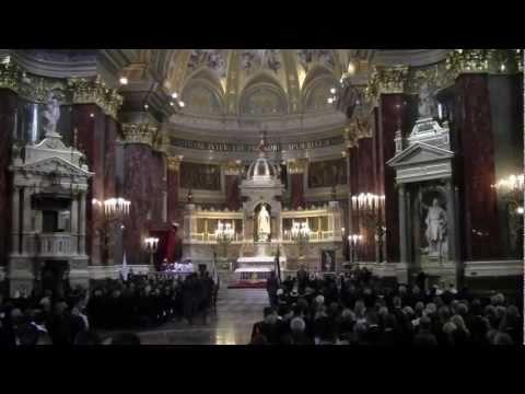 Hungary's Last Respect for Otto von Habsburg - Gyászmise Ottó föherceg 2011