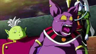 Dragoball super ดวงตาสีเทา จงทำลายล้างความขี้เกียจและสบาย ปลุกพลังเทพเจ้าที่หลับไหล