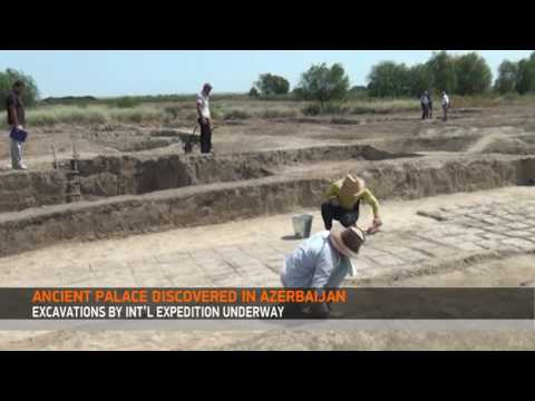 ANCIENT PALACE DISCOVERED IN AZERBAIJAN