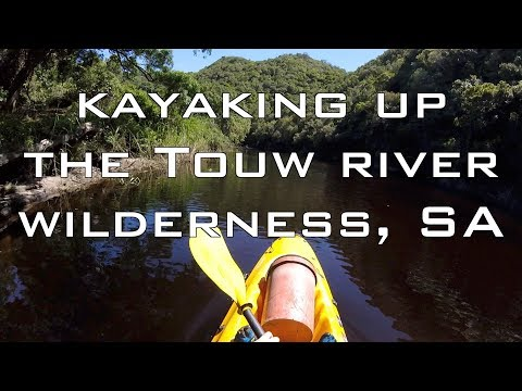 Kayaking Down the Touw River - Wilderness, South Africa