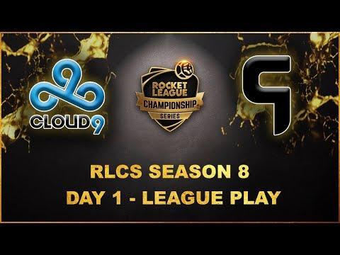 Cloud9 vs Ghost Gaming   Season 8 RLCS   League play Day 1