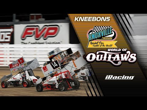 World of Outlaws - Knoxville Raceway - iRacing Dirt