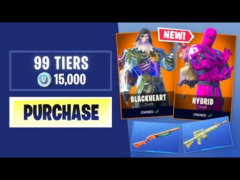 Buying Every SEASON 8 BATTLE PASS Tier in Fortnite Battle Royale thumbnail
