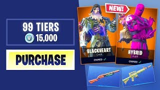 Acheter chaque SEASON 8 BATTLE PASS Tier à Fortnite Battle Royale