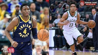How Will Malcolm Brogdon Fit With Victor Oladipo?