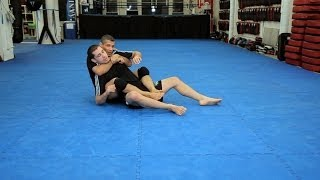 Rolling Arm Bar From Back Mount | Mma Submissions