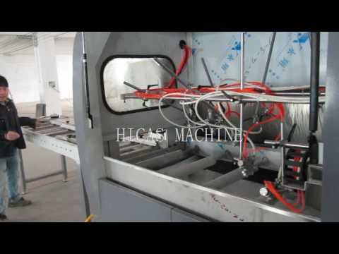 FME40 automatic spray painting machine for wood frame