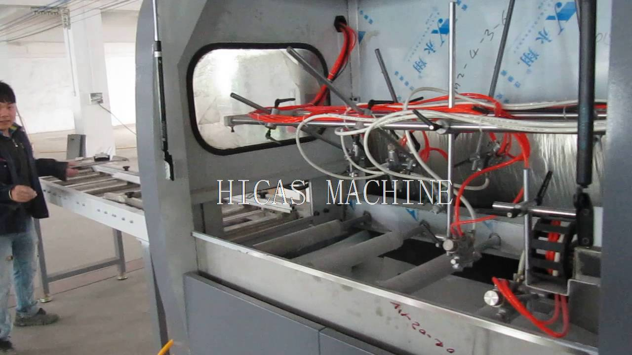 Fme40 Automatic Spray Painting Machine For Wood Frame Youtube