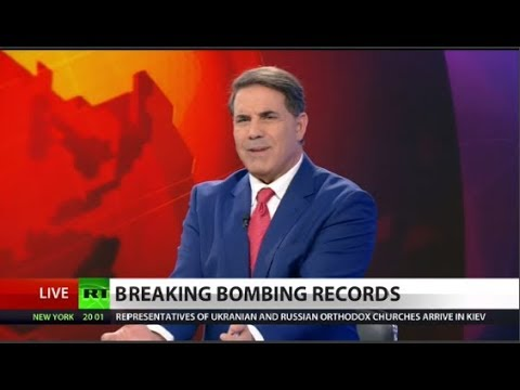 RT America: US Drops Record Number of Bombs in Afghanistan
