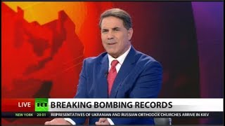 US Drops Record Number of Bombs in Afghanistan