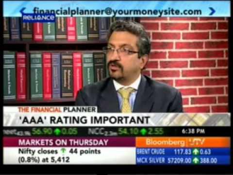 Bloomberg UTV The Financial Planner 09 Feb 2012- Part 2 - Mr. Sumeet Vaid - Founder & CEO