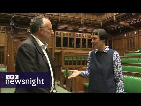 Stephen Smith Meets The Official General Election Artist - BBC Newsnight