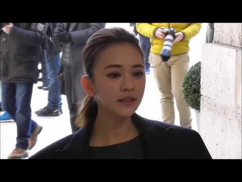 Ivy Chen 陳意涵 attends Lanvin show @ Paris 28 february 2018 Fashion Week #PFW