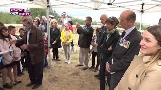 Ο Δούκας του Κεντ στη Δοϊράνη για τα 100 χρόνια από τη λήξη του Α' ΠΠ-Eidisis.gr webTV