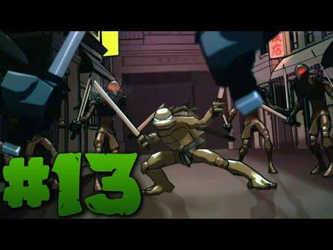 Черепашки Ниндзя TMNT 2007 {PC} прохождение часть 2 — Клоун Микеланджело