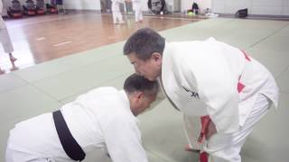 あのノゲイラも参考にしたかも!? ねずみ取り絞め(柔道でのスピニングチョーク)-judo - spinning choke 渡辺華奈 検索動画 28