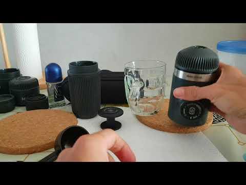Wacaco Nanopresso: demo how to use Barista Kit