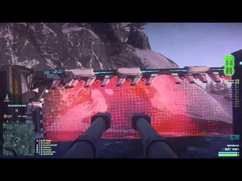 Planetside 2 Squad Gameplay - The Battleship (Sunderer Domination)
