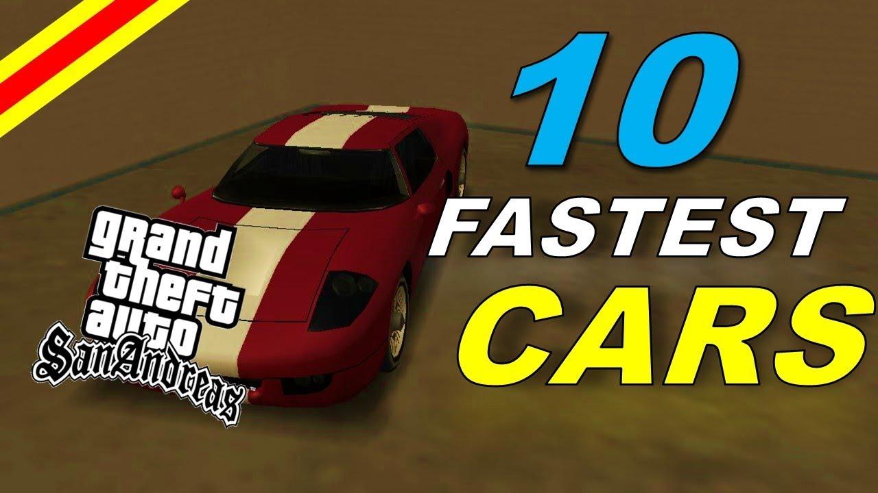 gta sa fast cars
