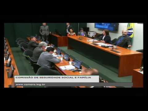 SEGURIDADE SOCIAL E FAMÍLIA - Reunião Deliberativa - 18/10/2016 - 11:24