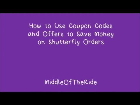 How to Save Money on Shutterfly Personalized Products with Coupon Codes – MiddleOfTheRide