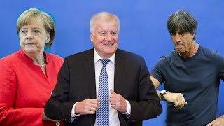 Merkel, Seehofer, Löw - Verantwortung? Nein danke!