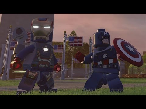 LEGO Marvel's Avengers -  Washington D.C. 100% Free Play Guide (All Gold Bricks, Characters etc.)