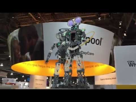 """Introducing """"Meccanoid"""" from Meccano, maker of Erector Sets (@ 2015 CES)"""
