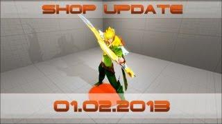 Обновление магазина 1 февраля! (Shop update 1 February!)