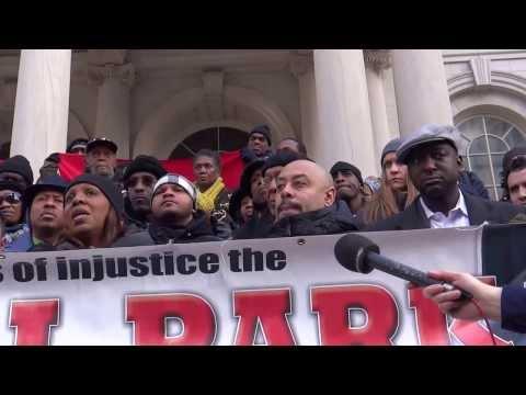 "CENTRAL PARK 5/ CITY HALL, JOHN LIU, LATISHA JAMES ""JUSTICE DELAYED IS JUSTICE DENIED"""