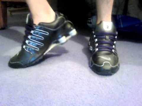 Nike Shox On Feet