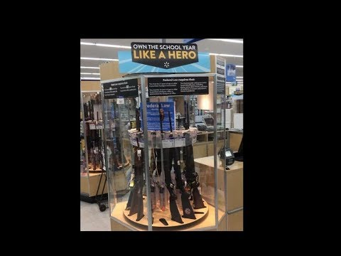 "Walmart Promotes Guns as ""Back to School"" Items, Apologizes"