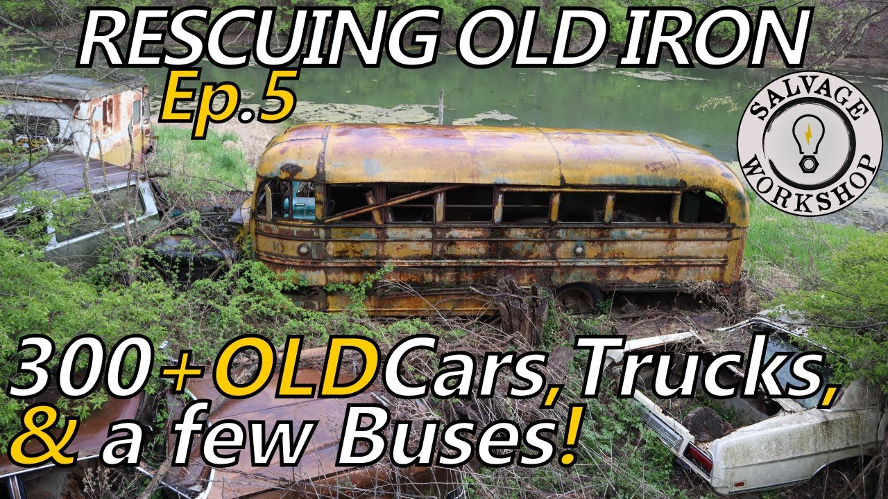 This Place Will BLOW YOUR MIND... A TRUE Step BACK in TIME ~ RESCUING OLD IRON ~ Episode 5 P.2