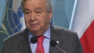 At Madrid Climate Conference, UN chief says solutions within reach