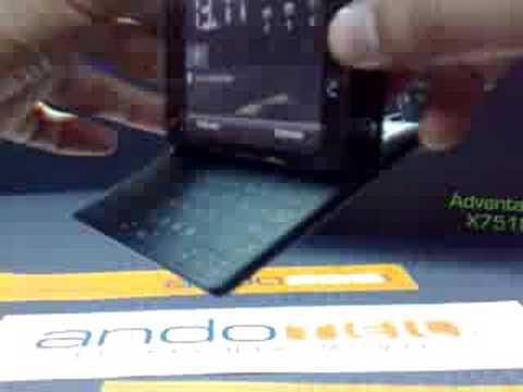 HTC X7510 Advantage. Demostracion a cargo de Andotel.com