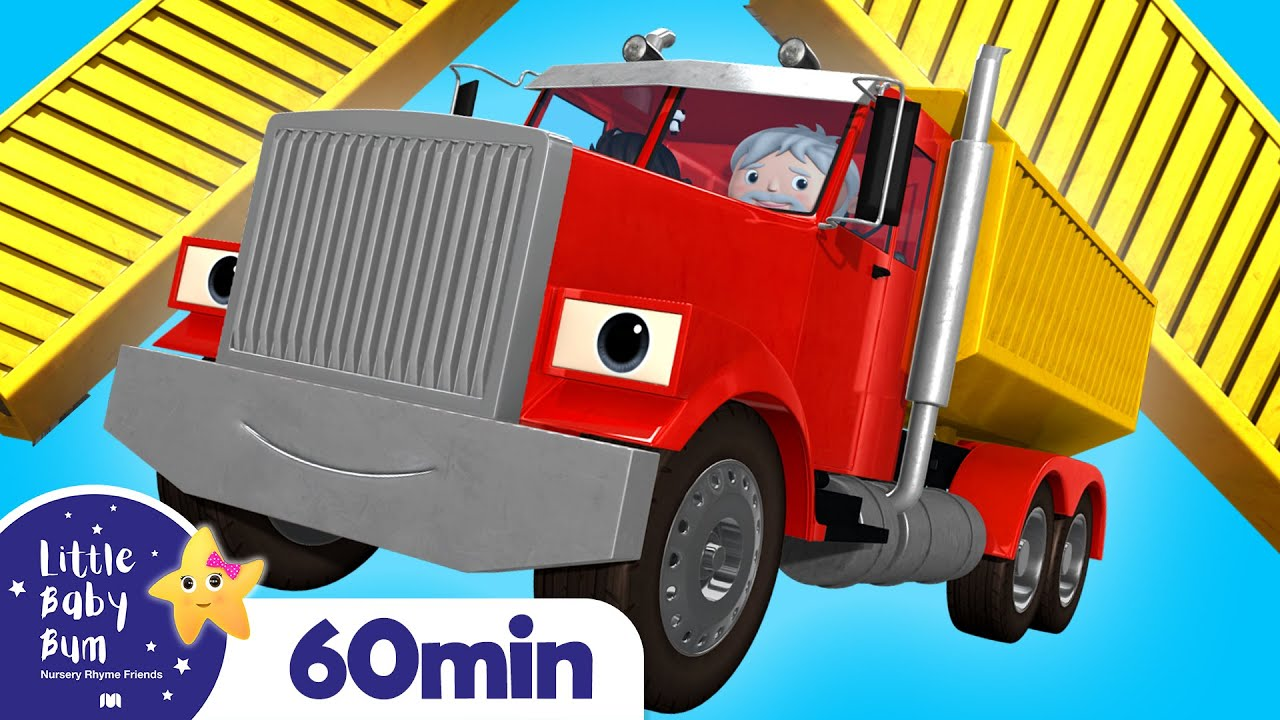 Song About Trucks +More Nursery Rhymes and Kids Songs | Little Baby Bum