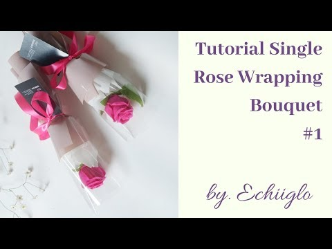 how-to-make-single-rose-bouquet-wrapping-by-echiiglo