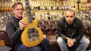 Joe Bonamassa's Gibson Korina Skylark Les Paul Prototype here at Norman's Rare Guitars
