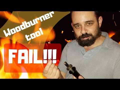 Harbor Freight Wood Burner Tool 38593 Fail!!! (Review)