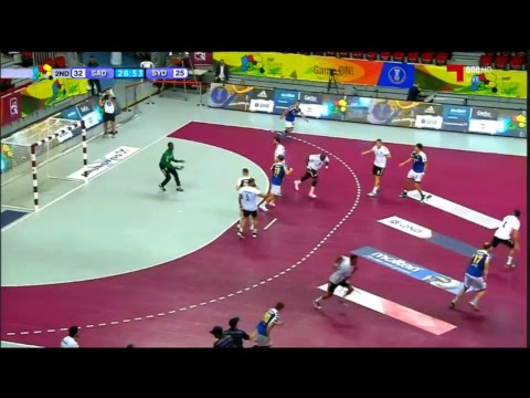 Al Sadd (QAT) vs Sydney Uni Handball Club (AUS) - 2017 IHF Super Globe