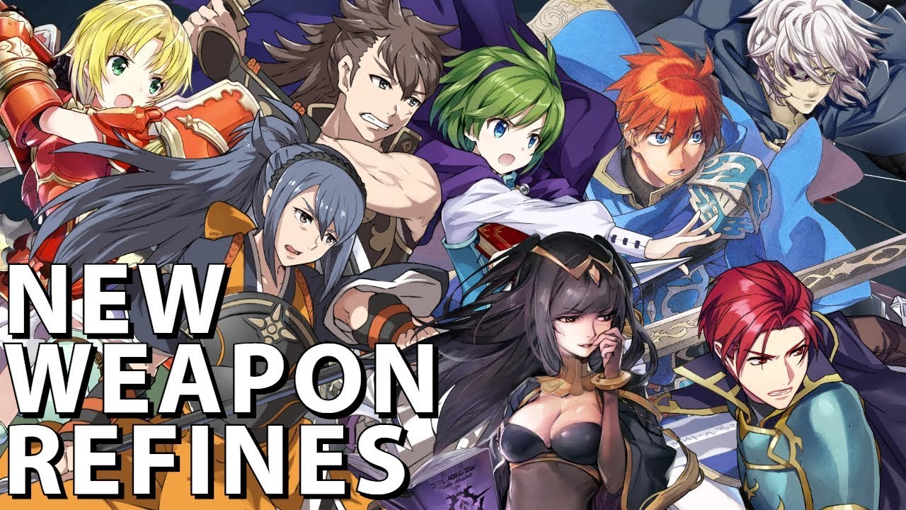 Even Attack Wave Nino Swift Sparrow Eliwood And More Fire Emblem