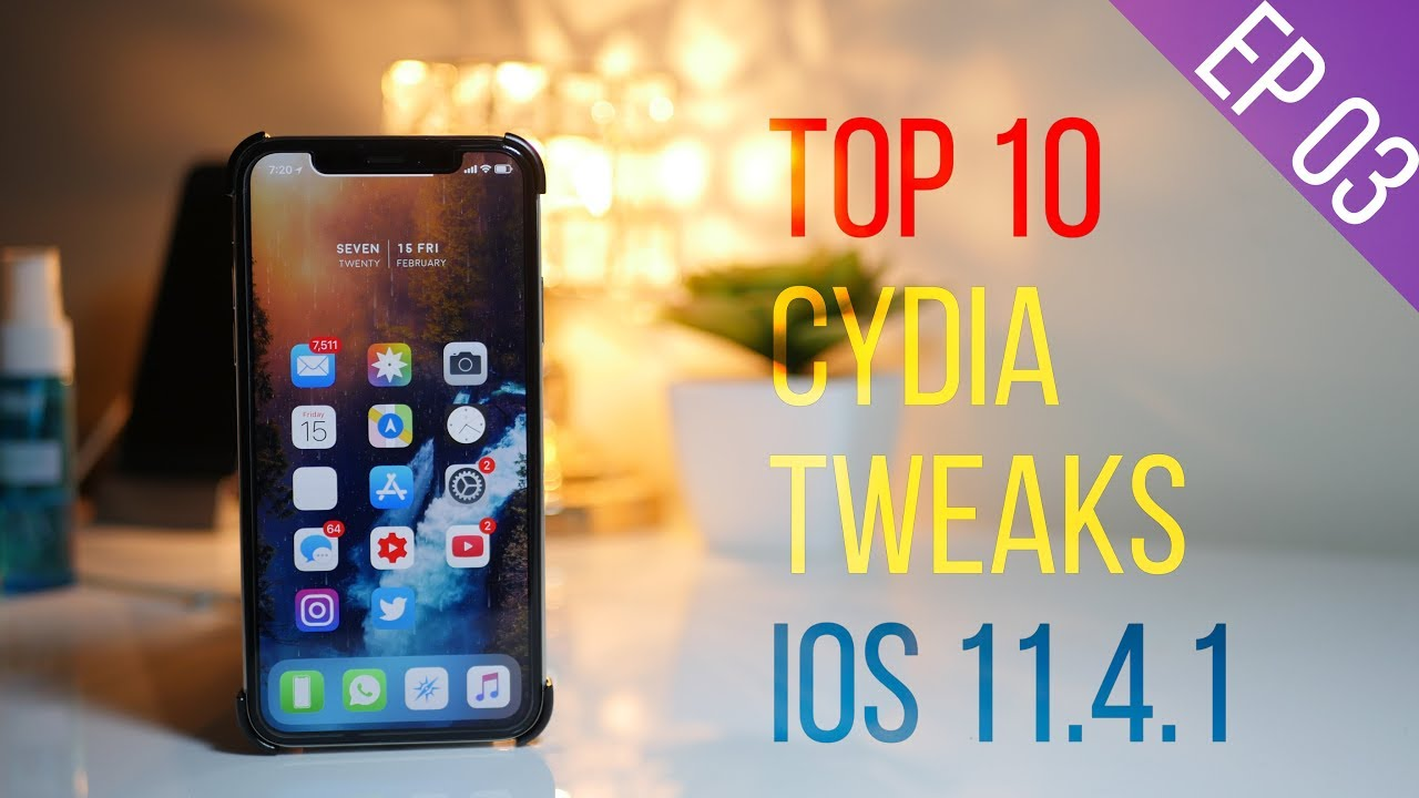 Top 10 Cydia Tweaks iOS 11 4 1! - Feb 2019!