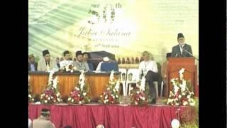 Jalsa Salana Mauritius 2011 Session 8 - Address by Amir Jamaat